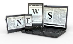 Nyheter på nätet