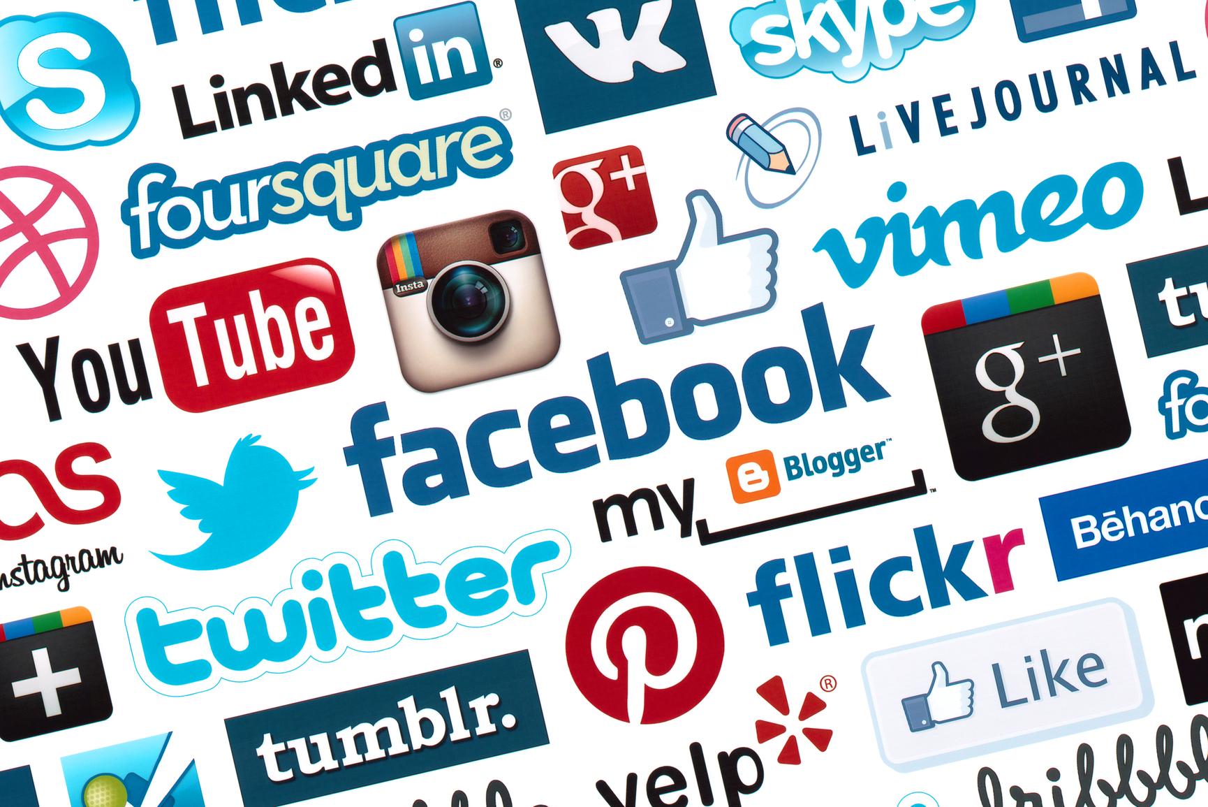Sociala medier tar över